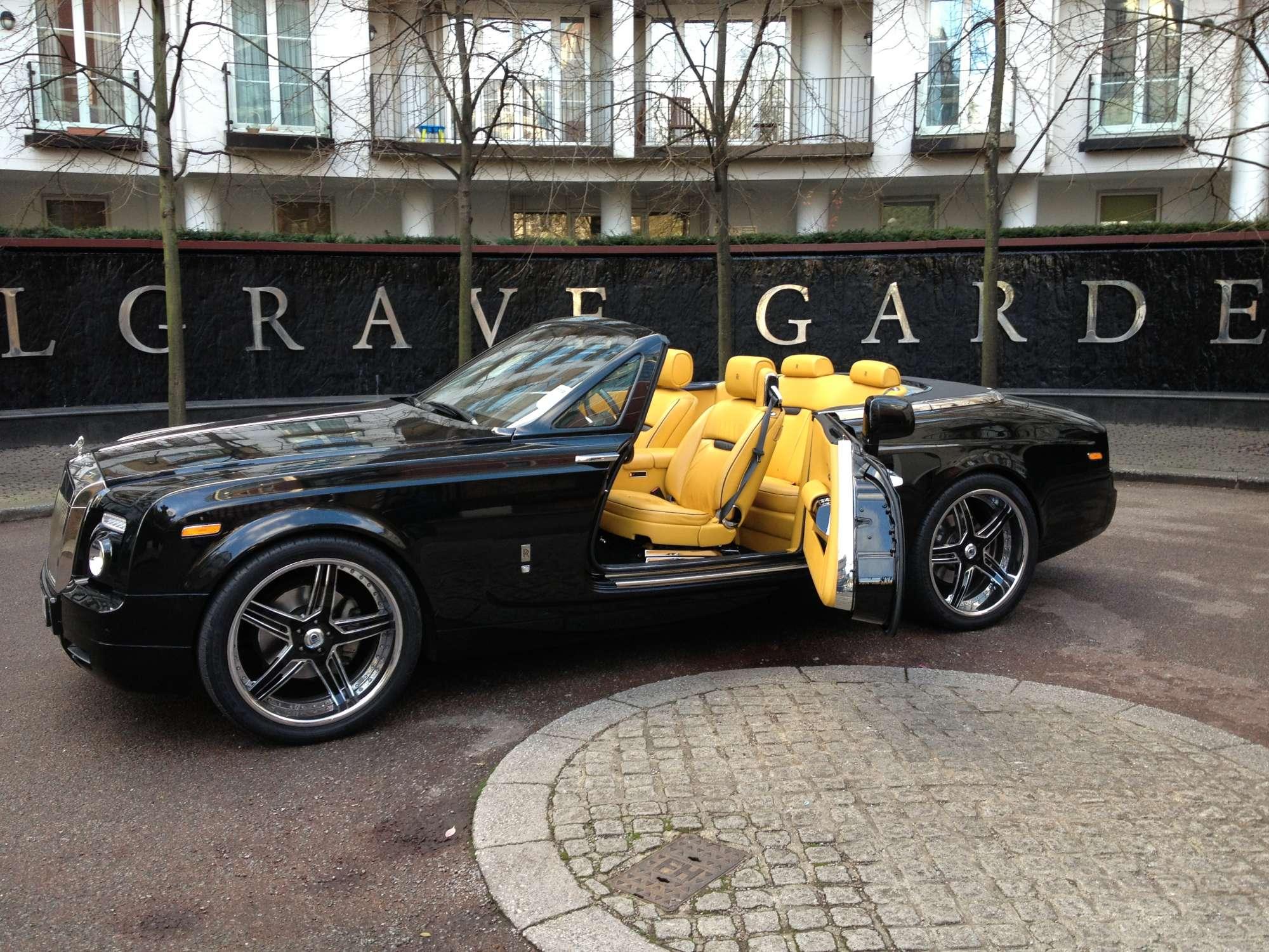 Lhd Rolls Royce Phantom Drophead Pegasus Auto House