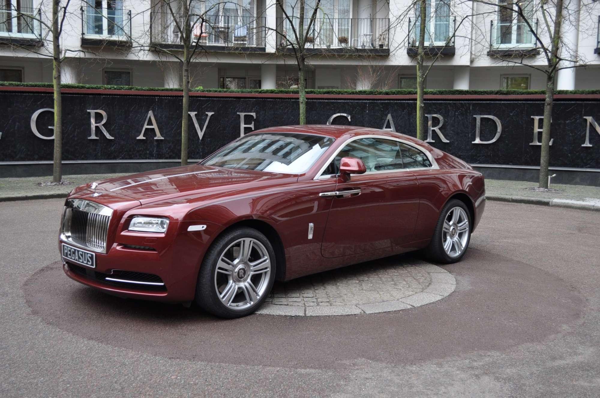 Lhd Rolls Royce Wraith Pegasus Auto House