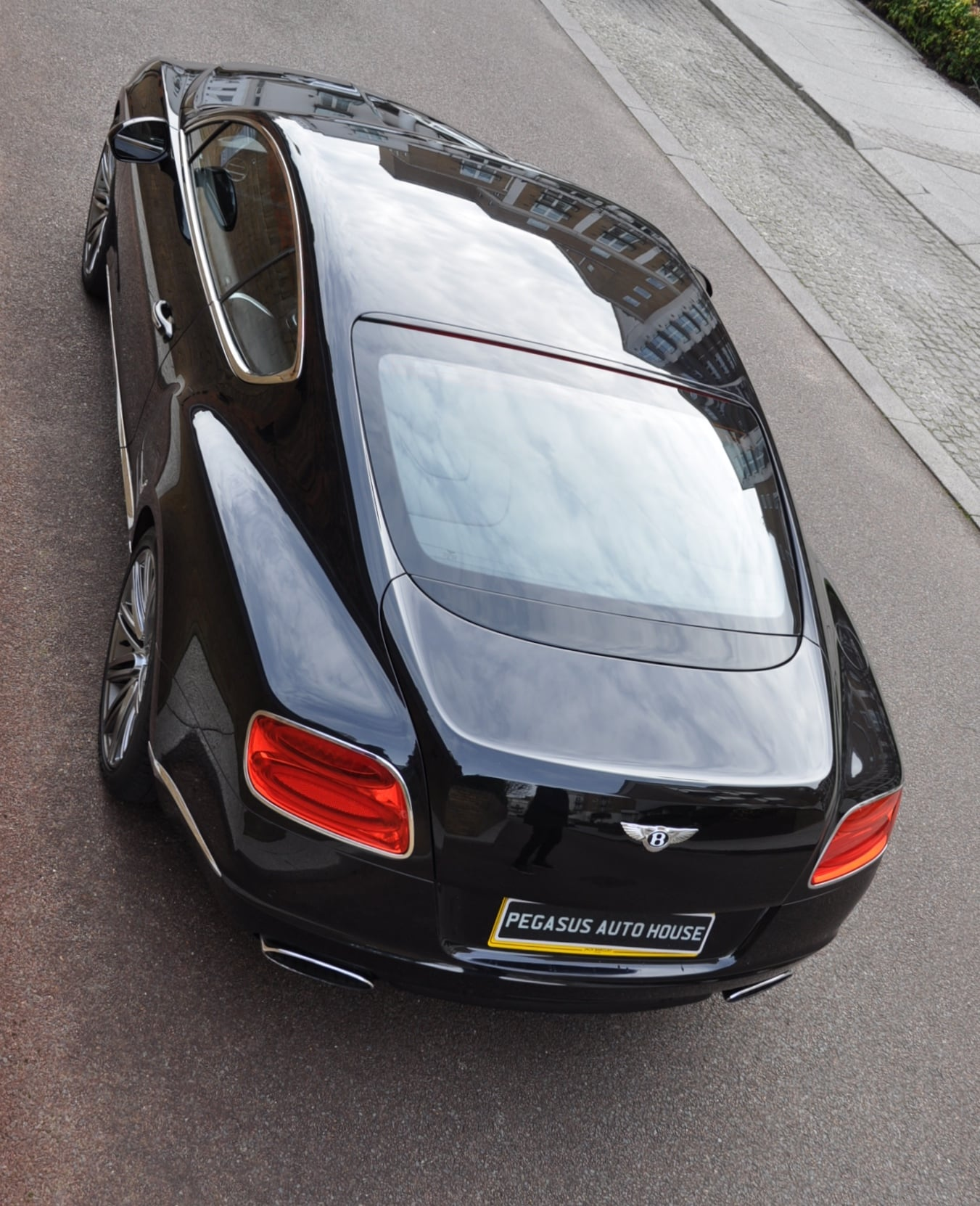 Tesla Model S Black Electric Car Front View Full Hd: RHD Bentley Continental GT Speed