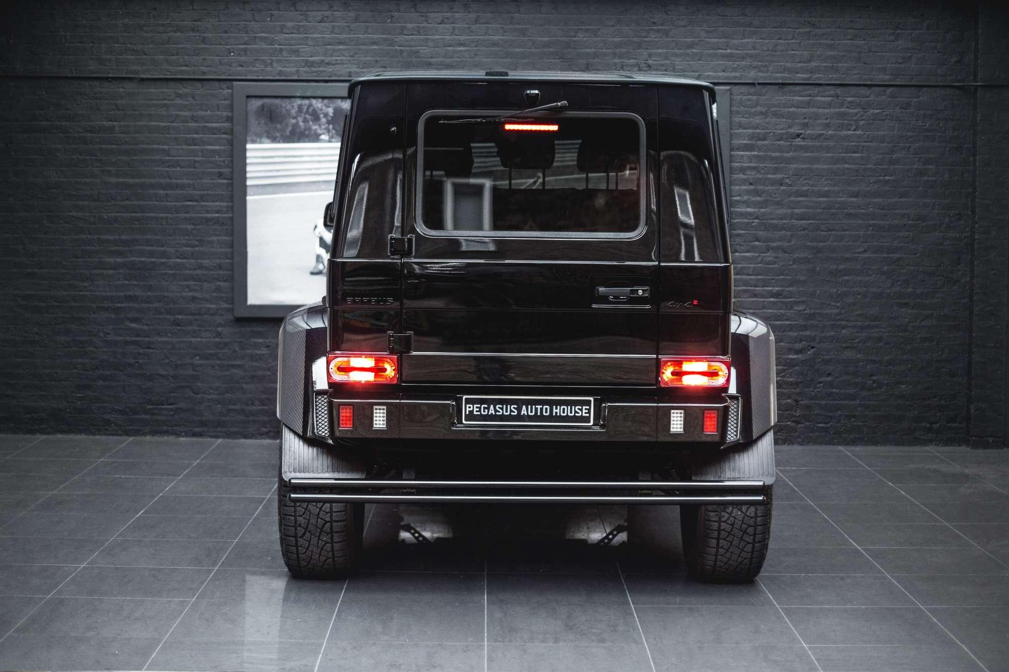 Lhd Mercedes Benz G500 4x4 Brabus Pegasus Auto House