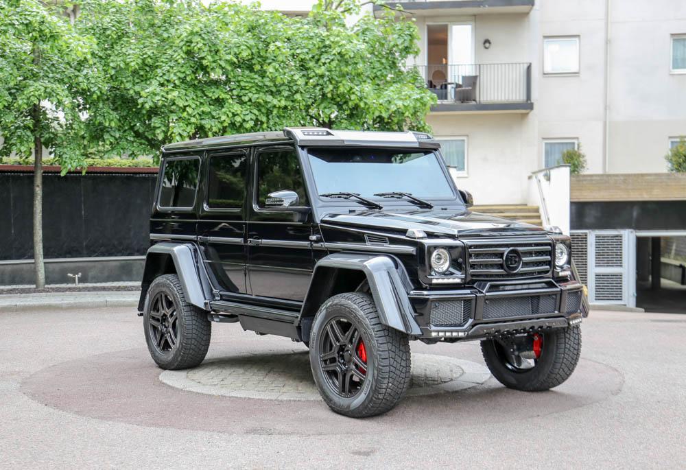 Mercedes benz g500 4x4 2 brabus pegasus auto house - Mercedes benz garage london ...