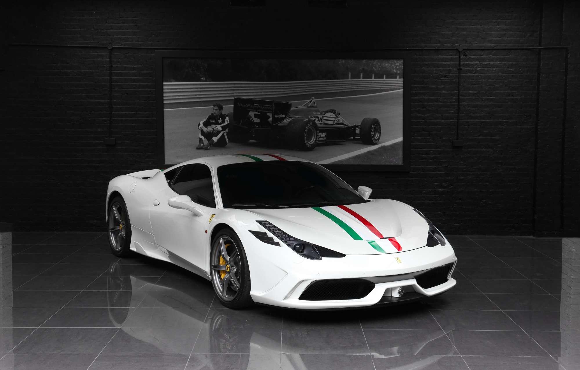 Lhd Ferrari 458 Speciale Pegasus Auto House