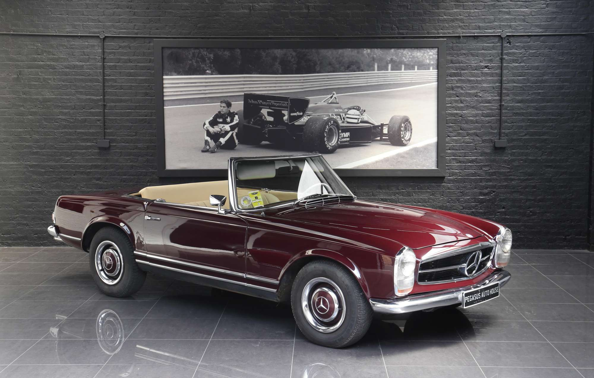 mercedes 250 sl pagoda 2 5 pegasus auto house. Black Bedroom Furniture Sets. Home Design Ideas