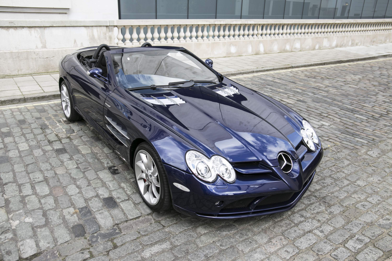 Mercedes Benz Slr Mclaren Roadster Pegasus Auto House