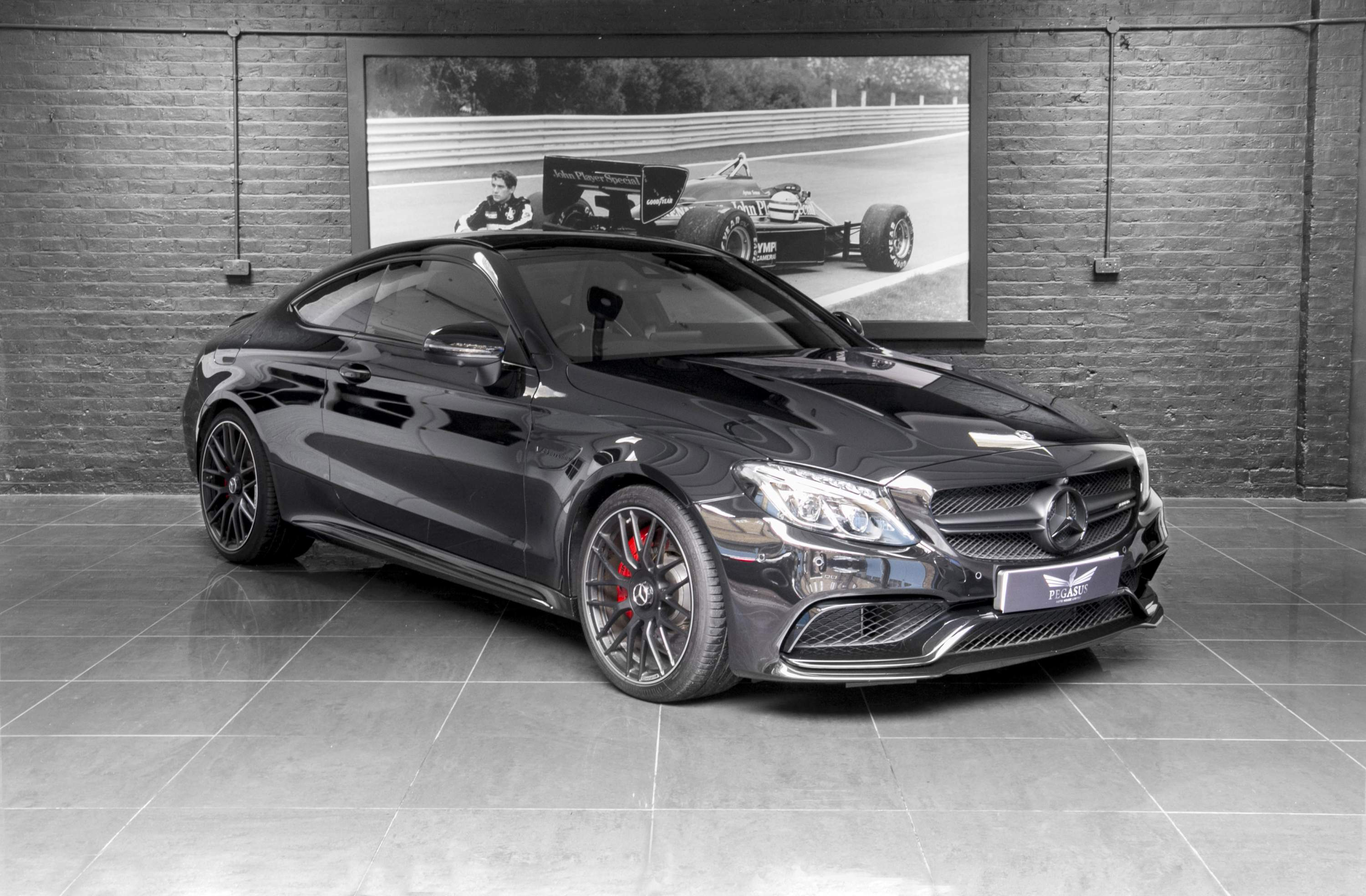 mercedes benz amg c63 s premium pack pegasus auto house. Black Bedroom Furniture Sets. Home Design Ideas