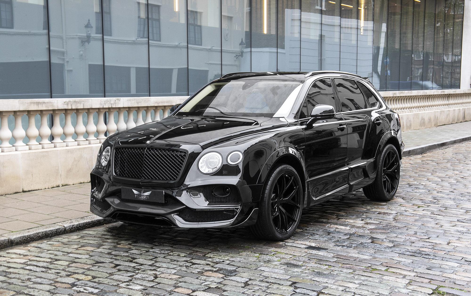 Bentley Bentayga W12 Onyx Concept Gtx Pegasus Auto House