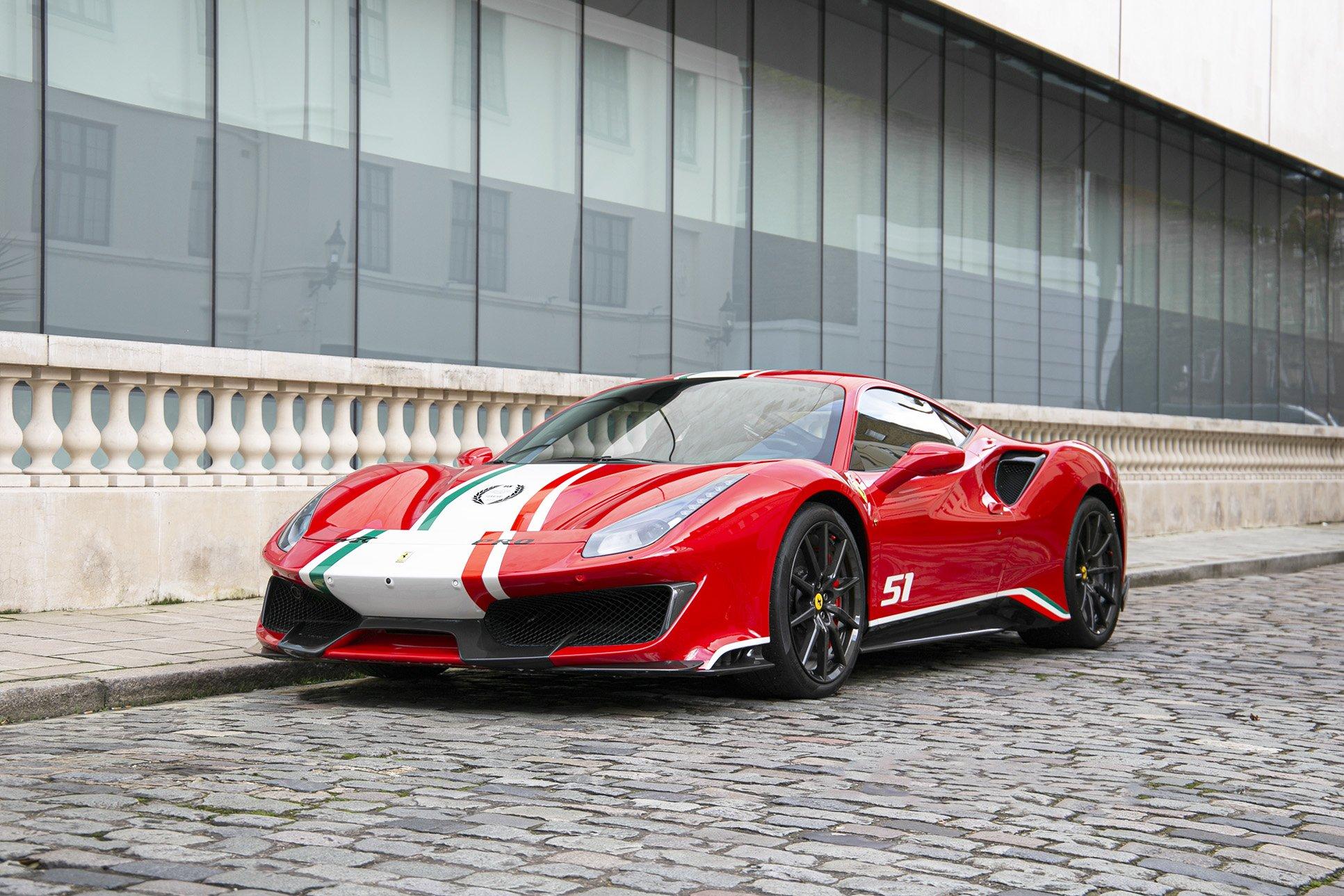 Ferrari 488 Pista Piloti Pegasus Auto House